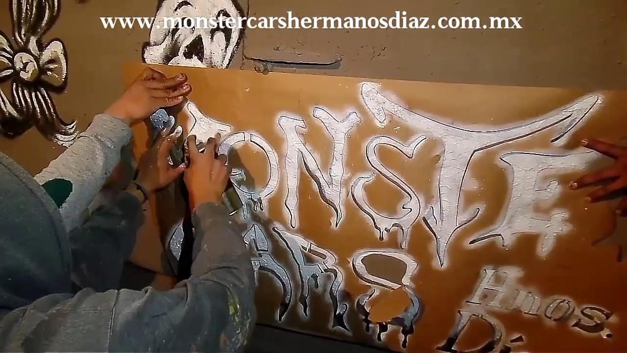 Exhibicion En Plaza Azcapotzalco Monster Cars Hnos Diaz La