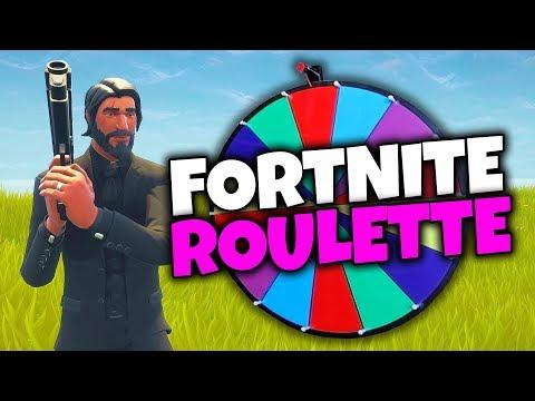 Fortnite Roulette Challenge!! *HILARIOUS* (Fortnite: Battle Royale)