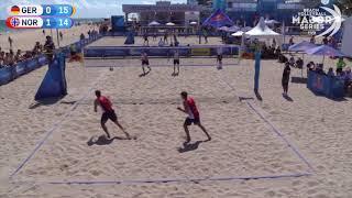 Berntsen/H.Mol (NOR) vs Schumann/Ehlers (GER) FIVB Major Series Fort Lauderdale 2018