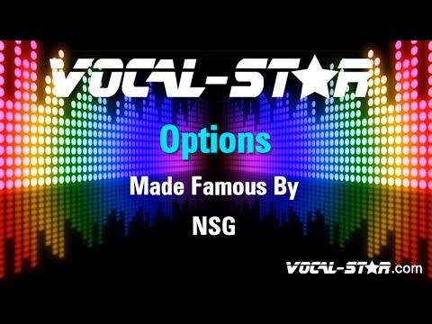 NSG - Options (Karaoke Version) with Lyrics HD Vocal-Star Karaoke