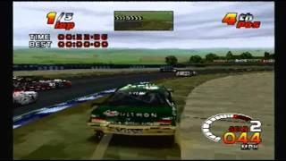 TOCA 2 Touring Car Challenge PS1: Test Track (Short)