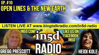 in5d Radio - Spiritual Awakening Symptoms & Open Lines - Ep. #10