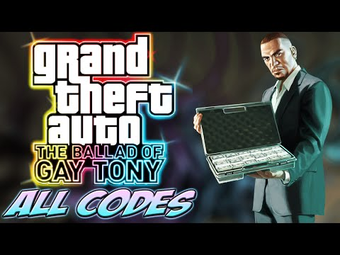 GTA IV TBOGT - ALL CHEATS + Demonstration [PC/PS3/Xbox360]