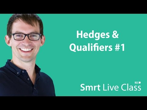 Hedges & Qualifiers #1 - Smrt Live Class with Shaun #33