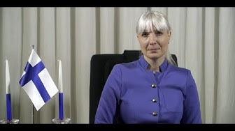 Presidenttiehdokas Laura Huhtasaaren uudenvuodenpuhe 1.1.2018