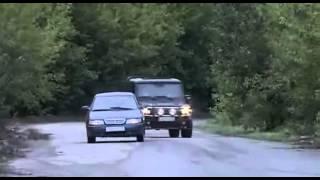 Знахарь (8 серия) - car chase scene #1