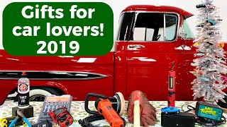 Gifts for Car Lovers 2019 - Stuff car guys want for Christmas!