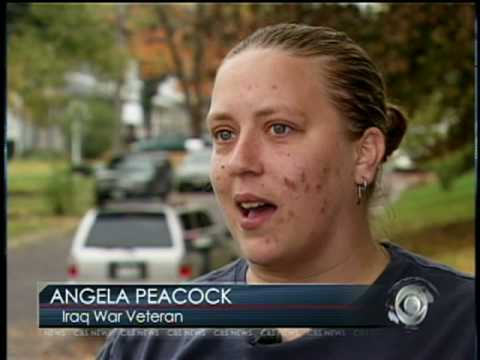 Struggling Female War Vets