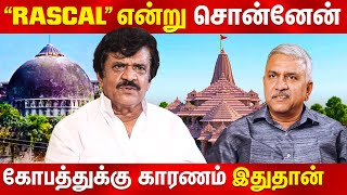 Trichy Velusamy Opens about Thanthi tv debate with Narayanan BJP