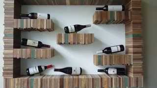 Bespoke Milo wine display furniture for Naturally Chinese design by Tristan Titeux
