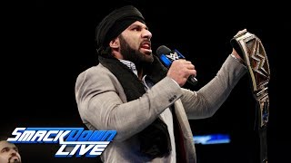 Jinder Mahal responds to Brock Lesnar & Paul Heyman: SmackDown LIVE, Oct. 24, 2017