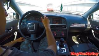 drive audi a6 avant 2005 3 0 v6 tdi 224cv hp quattro from port of venice to mestre