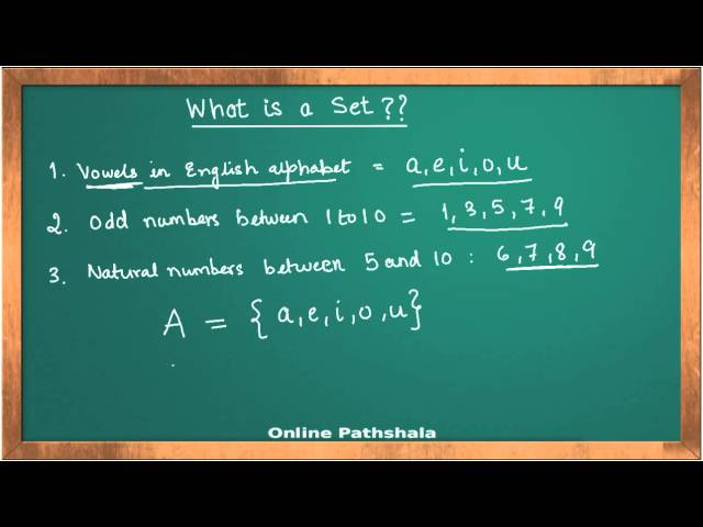 Sets_02 Sets and their representation CBSE MATHS