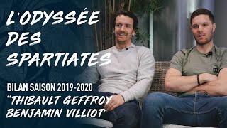 LE BILAN DE LA SAISON 19-20 - Thibault Geffroy et Benjamin Villiot