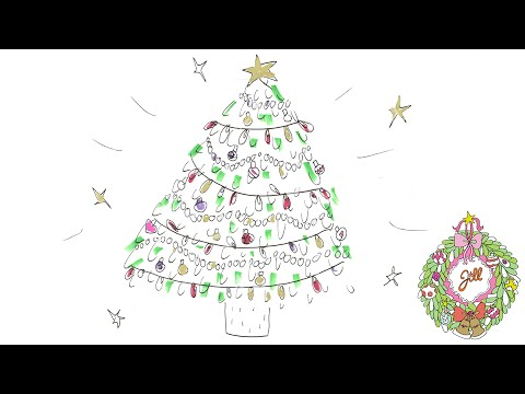 Jills Jingle Bell 1 Kerstboom Tekenen Youtube