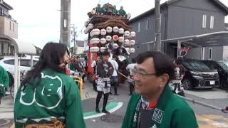 2019 成岩地区祭礼 善六商店角