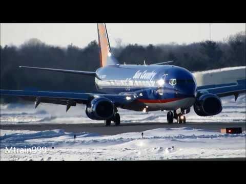 Plane spotting Ptk, Larger jets*