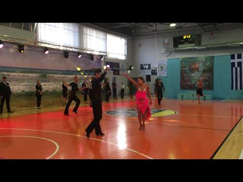 PELOPONNESE DANCE OPEN,  JIVE (5dance Latin adults)