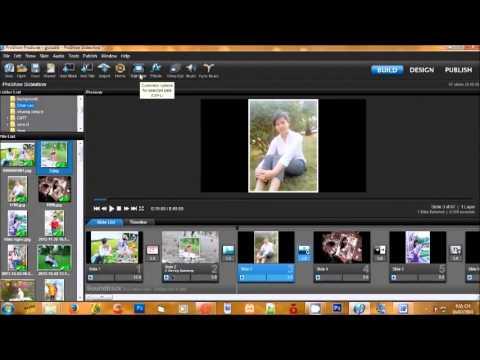 Cách Làm Slide Trình Diễn Ảnh Bằng Proshow Producer 6 Gold PSP PSG