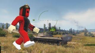 Real life Roblox vs World of Tanks