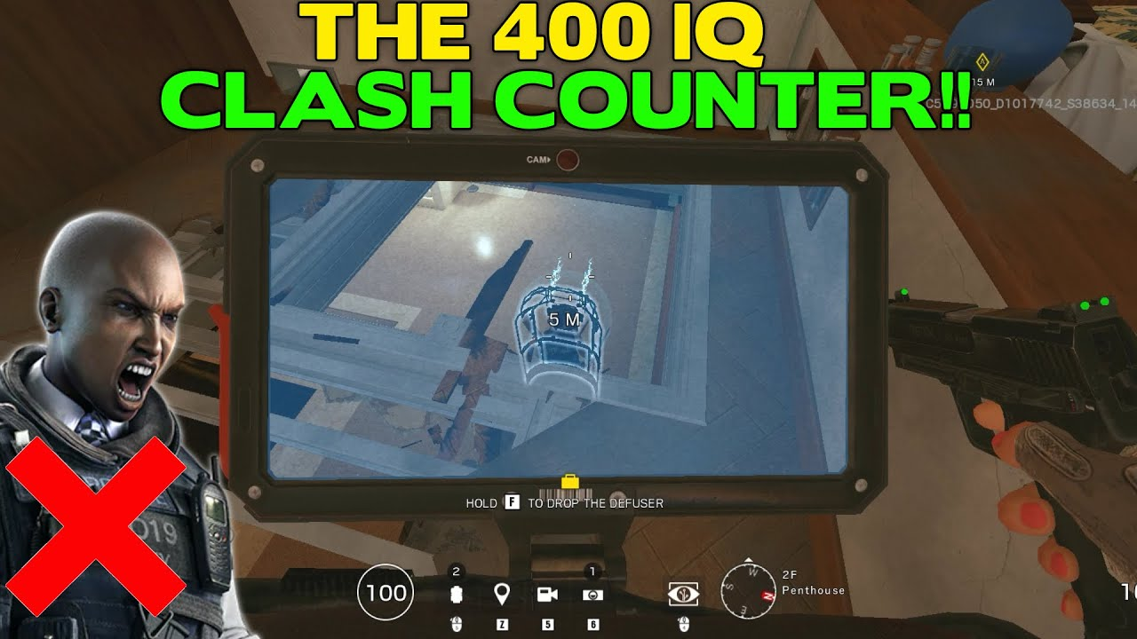 How to Counter Clash || Rainbow Six Siege Tips