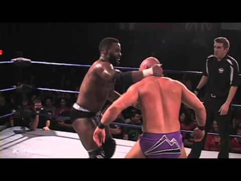 CWF Mid-Atlantic Wrestling: Smith Garrett vs. Worldwide TV Champ Cedric Alexander (12/26/15)