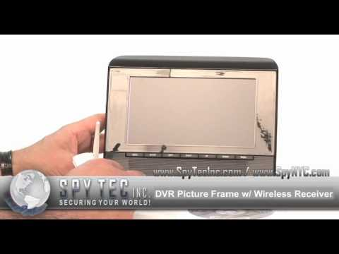 Digital Picture Frame Hidden Camera Review Youtube