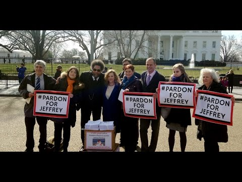 Wife of CIA Whistleblower Jeffrey Sterling, Others Call On Obama to Pardon Him, full event, 021716