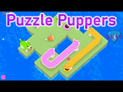 First look at Puzzle Puppers | Gameplay / Let's Play |