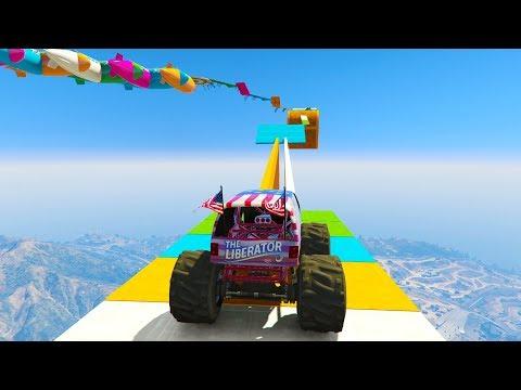 GUAU! SUPER IMPOSIBLE!! PEGATELA! - CARRERA GTA V ONLINE - GTA 5 ONLINE