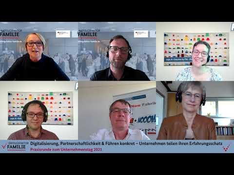 Download Praxisrunde am Unternehmenstag 2021: Unternehmen teilen ihren Erfahrungsschatz