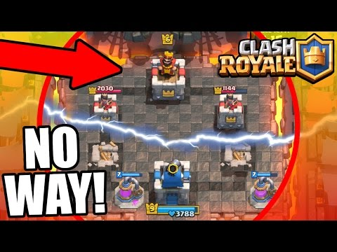 Clash Royale | TROLLING 3 TOWERS vs 1 !! EPIC TROLL GAME PLAY!! | Trolling Lower Level Players!