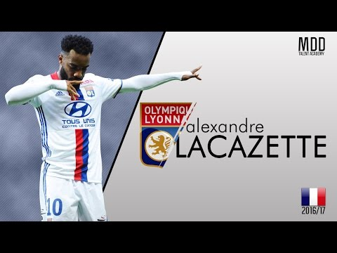 Alexandre Lacazette | Lyon | Goals, Skills, Assists | 2016/17 - HD