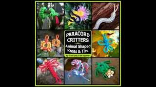 Paracord Critters (Book Preview) - Now Available for Pre-Order!