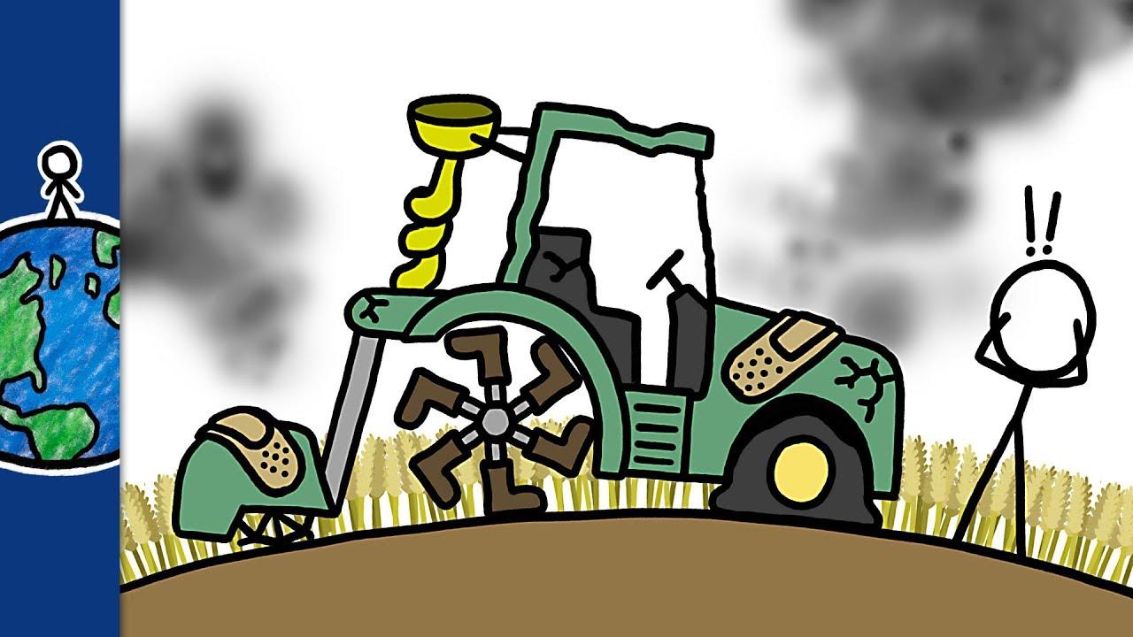 why farming is broken and always has been  [ 1280 x 720 Pixel ]