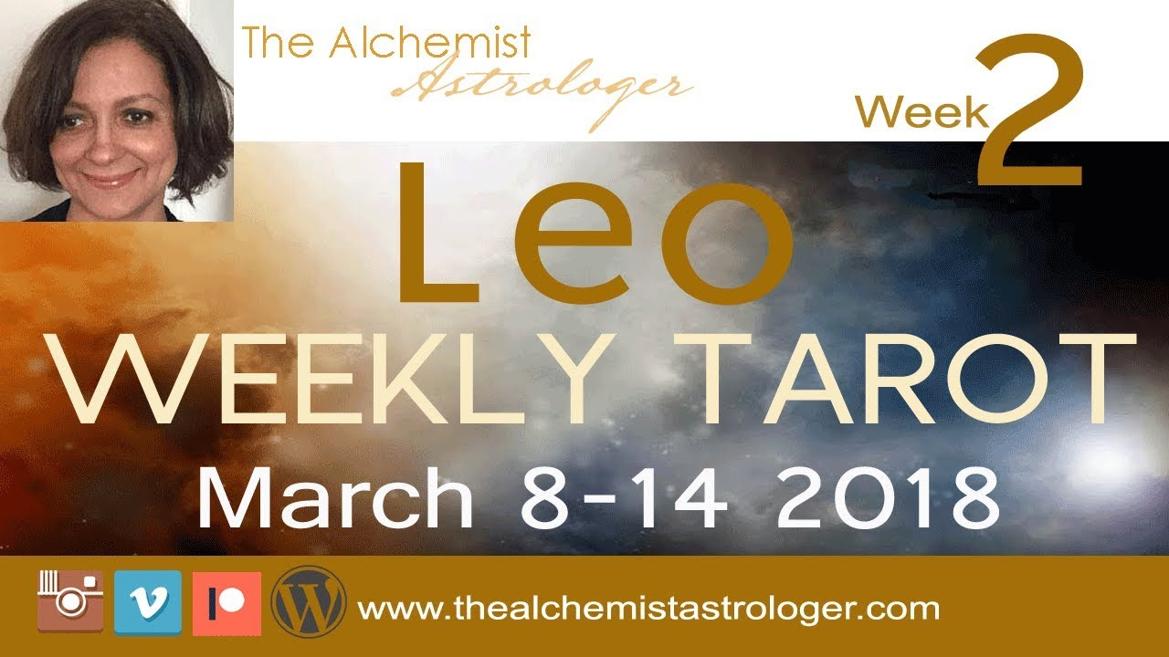 leo weekly 8 to 14 tarot march
