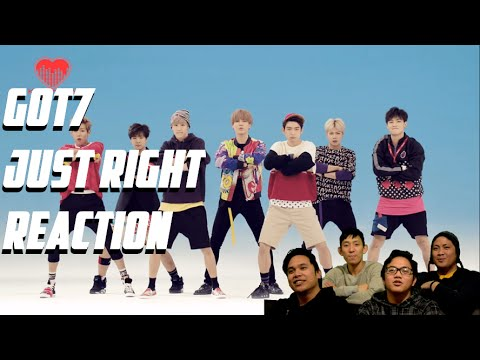 [4LadsReact] GOT7 - JUST RIGHT (딱 좋아) MV Reaction