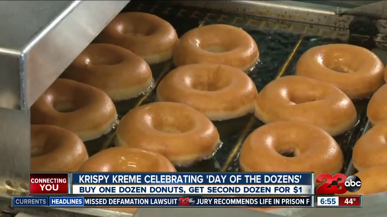 'Day of Dozens:' Krispy Kreme Offers Dozen Donuts for $1