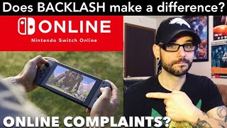 Complaining about the Switch