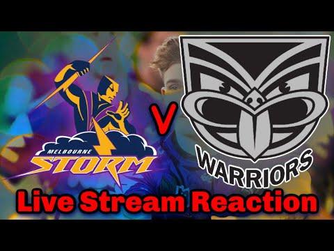 Melbourne Storm V New Zealand Warriors | NRL Round 7 - Live Stream | Reaction