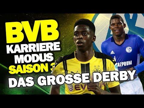DAS GROSSE DERBY GEGEN FC SCHALKE 04 IN DER BUNDESLIGA ♕ FIFA 17 KARRIEREMODUS BVB SAISON 3 #36