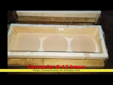 Manufacturer RTV 2 Silicone Rubber for Mold Making Resin ...