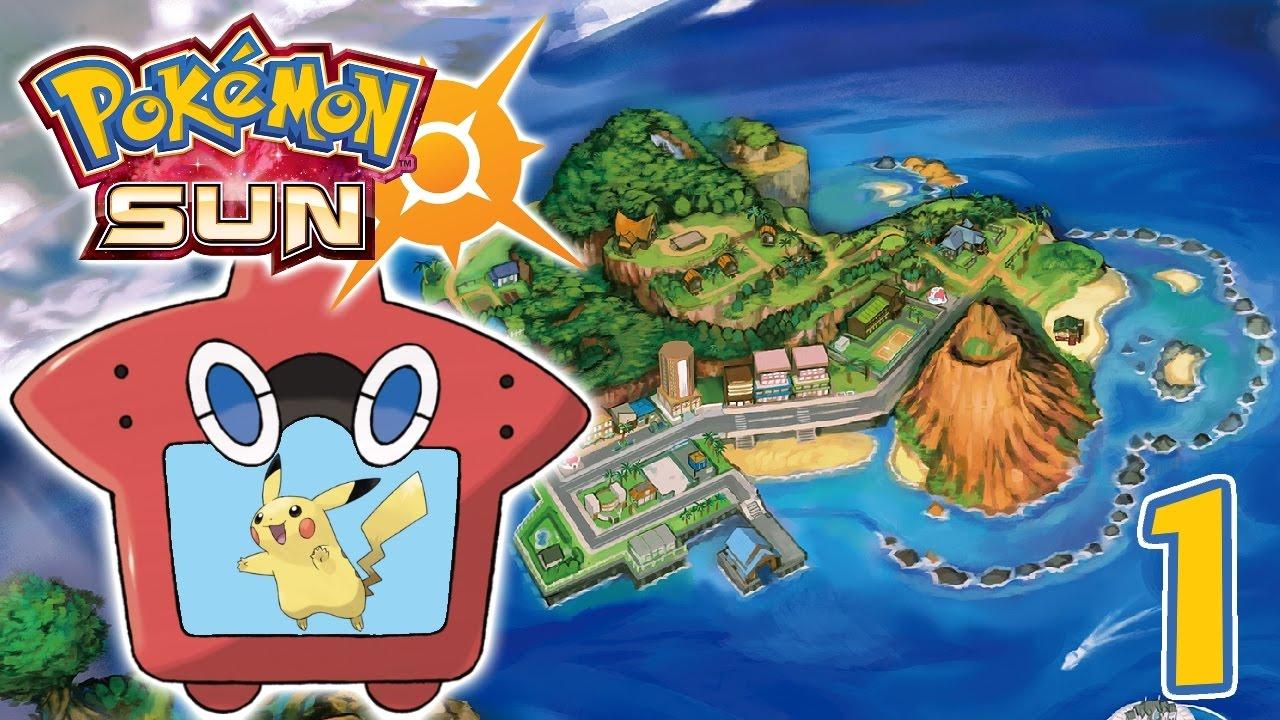 Let's Play Pokémon Sun [Blind] - #1 | Alola Alola - YouTube