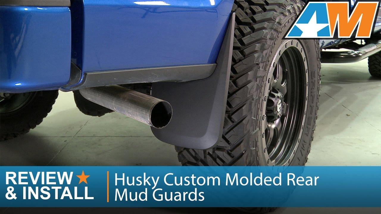 Husky Custom Molded Rear Mud Guards Review Install Youtube
