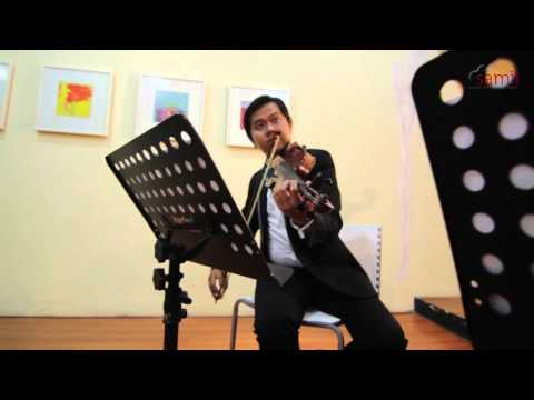 Samii Music Entertainment String Quartet [cover] Something Stupid - Wedding Music Bandung