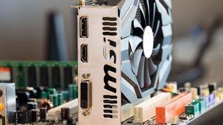 استعراض لكرت الشاشة MSI GeForce GTX 1050 2G OC