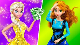 Rich Elsa vs Broke Anna