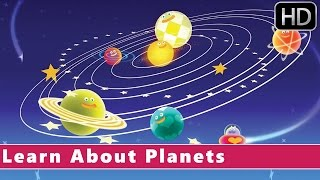 Learn About Planets | Planet Song | Nursery Rhymes For Kids