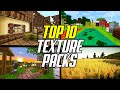 Top 10 Best Minecraft Texture Packs Of All Time (Resource Packs)