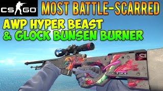 CS GO Skins - Most BS AWP Hyper Beast & Max Green Bunsen Burner! (McSkillet Inventory Update)
